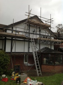 Side Elevation Full Scaffold